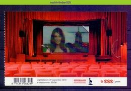 Nev2769 CARICE VAN HOUTEN 3D STAMP MOLEN MILL NEDERLANDS FILM FESTIVAL THEATRE NEDERLAND 2010 PF/MNH - Periode 1980-... (Beatrix)
