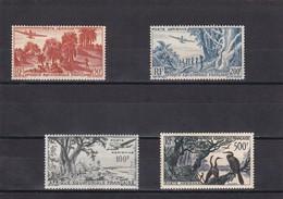 Africa Ecuatorial Francesa Nº A50 Al A53 Con Charnela - A.E.F. (1936-1958)