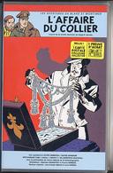 """{06687} K7 VHS """"Les Aventures De Blake Et Mortimer, L'affaire Du Collier"""" Volume 3 + CP Collector TBE    """" En Baisse """" - Blake Et Mortimer"""