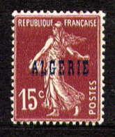 ALGERIE  - 12** - TYPE SEMEUSE - Unused Stamps