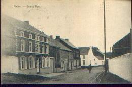 MELLET « Grand'rue» Ed. Armand Bouffioux, Mellet (1920) - Les Bons Villers