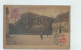 Perleberg (Allemagne, Brandebourg) : Am Realgymnasium Im 1921 (anilebendig)  PF. - Perleberg