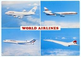 WORLD AIRLINES : PAN AM / LAKER / AIR FRANCE / BRITISH AIRWAYS - 1946-....: Era Moderna