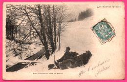Nos Douaniers Dans La Neige - Les Hautes Vosges - Pipe - Militaire - Polizei - Gendarmerie