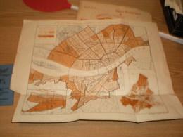 Budapest Fovaros 1891 - Geographical Maps