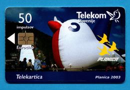 SLOWENIA  Chip Phonecard - Slovénie