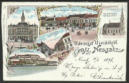 СРБИЈА - SERBIA: Űdvőzlet Neusatz - Нови Сад - Novi Sad - Serbia