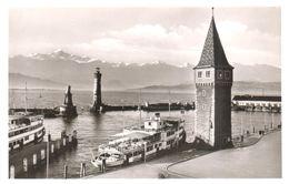 Deutschland - Lindau Im Bodensee Bodensee - Hafen Und Alter Leuchtturm - Lindau A. Bodensee