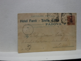 PADOVA  -- HOTEL FANTI  -- STELLA D'ORO - Padova (Padua)