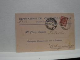 BOVOLENTA  --PADOVA  --    DEPUTAZIONE DEL CONSORZIO  S...... - Padova (Padua)