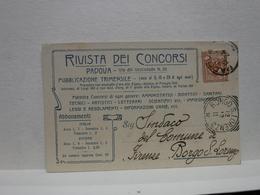 PADOVA  --    RIVISTA DEI CONCORSI - Padova (Padua)