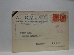 PADOVA  --    A. MOLARI  --DROGHERIA - Padova (Padua)