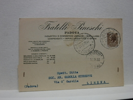PADOVA  --  FRATELLI PINESCHI  -- COMMERCIO LEGNAMI - Padova (Padua)