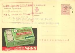 MOUSCRON  ROBERT DUJARDIN CHARBONS EN GROS  168 AVENUE DU CHATEAU - Mouscron - Moeskroen