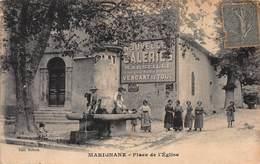 CPA Marignane - Plage De L' Eglise - Marignane