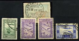 3192- Grecia Nº 2, 15/16, 18 - Airmail