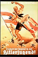 "WW2 - Photo Affiche Allemande ""Hitlerjugend"" - 1939-45"