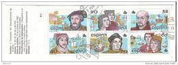 1987-ED. 2919C-CARNET-V CENTENARIO-USADO - 1931-Hoy: 2ª República - ... Juan Carlos I