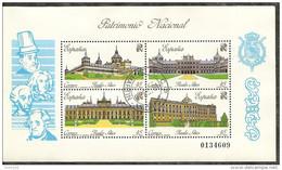1989-ED.3046 H.B.-PATRIMONIO .PALACIOS-USADO- - 1931-Hoy: 2ª República - ... Juan Carlos I