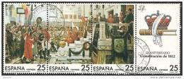 1987-ED. 2887a90-EN TIRA-CONSTITUCION DE 1812-USADO - 1931-Hoy: 2ª República - ... Juan Carlos I