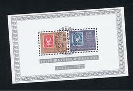6. Mai 1972 100 Jahre Posthornmarken Ersttagsstempel First Day Stamped - Norvège