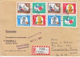GERMANY  BERLIN  FAIRY  TALE   PRINCESS &  FROG   COVER  TO  USA - [5] Berlin