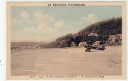 PLESTIN Les GREVES - Vue Générale De La Plage (avion) Dép22 (2scans) TBE - Plestin-les-Greves