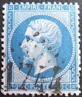 Lot R1752/545 - NAPOLEON III N°22 - GC 1744 : GUINGAMP (Côtes Du Nord) INDICE 3 - 1862 Napoléon III