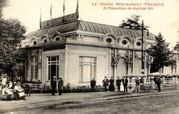 59 Le Grand Restaurant FRANÇAIS à L'Exposition De ROUBAIX 1911 - Très Animée - Roubaix