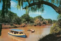 "07930 ""REPUBLIEK VAN SUID AFRIKA - VALSRIVIER, KROONSTAD"" ANIMATA, BARCHE, BATTELLO - CART. ORIG. NON SPED. - Sud Africa"