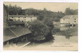 CPA. Cholet. La Moine Au Moulin De La Motte.     (537) - Cholet