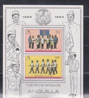 ANGUILLA Scott # 558A  MNH - Boy Scouts Souvenir Sheet - Anguilla (1968-...)