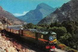 "07938 ""REPUBLIEK VAN SUID AFRIKA - BLOUTREIN IN TULBAGHVALLEI"" TRENO - CART. ORIG. NON SPED. - Sud Africa"