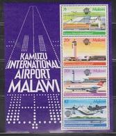 MALAWI Scott # 422A  MNH - Manned Flight Centenary Souvenir Sheet - Malawi (1964-...)