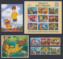 GHANA 1996 - Disney Friends - Mi 2420-34 + B308-9; CV=33 € - Disney