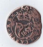 Monnaie Espagne Hispaniarum Rex Philippus III 1620 Surcharge Pirate RX Pièce De 8 1692 - Monete Provinciali