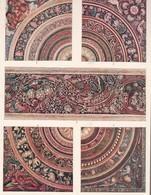 L'ORNEMENT BOUDDHISTE DANS L'INDIE. PEINTURES DE PLAFOND A AJANTA.-ART HISTORY LAMINA SHEET PLANCHE-BLEUP - Afiches