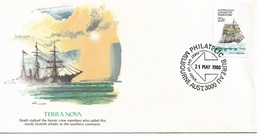 Australia Antarctic Territory FDC 1980 Ships Terra Nova !! - FDC