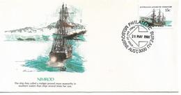 Australia Antarctic Territory FDC 1980 Ships Nimrod !! - FDC