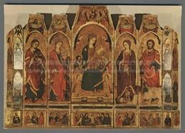 V5041 RELIGIONE POLITTICO MUSEO PEPOLI TRAPANI (m) - Tableaux, Vitraux Et Statues