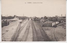 M021  /  TUNISIE /   SOUSSE   / Intérieur De La Gare  (recto ,verso) - Tunisie