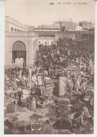 M024  / TUNIS  /   LE  MARCHE   /    (recto ,verso) - Tunisie