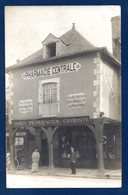 35. La Guerche-de-Bretagne. Carte-photo:  Pharmacie Centrale. Jamet Pharmacien-Chimiste - La Guerche-de-Bretagne