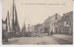 M029  /  LES SABLES D' OLONNE    /   Le  Quai  Du Commerce   /   (recto ,verso) - Sables D'Olonne