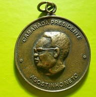 Medal * Angola * Camarada Presidente Agostinho Neto - Tokens & Medals