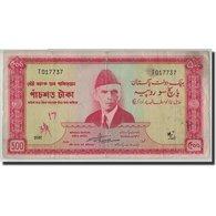 Billet, Pakistan, 500 Rupees, Undated (1964), KM:19a, TB - Pakistan