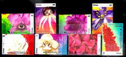 3180  Flowers - Orchids X 3 - Roses - 2017 - MNH - 3,25 - Orchidées