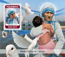 MOZAMBIQUE 2018 MNH** Mother Teresa Mutter Teresa Mere Teresa S/S - OFFICIAL ISSUE - DH1825 - Mère Teresa