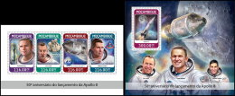 MOZAMBIQUE 2018 MNH** 50 Years Lunch Apollo 8 Start Apollo 8 Space Espace Raumfahrt M/S+S/S - OFFICIAL ISSUE - DH1825 - Afrika
