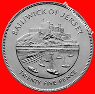 Jersey, 25 Pence 1977 - Jersey
